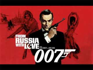 James Bond 007: From Russia with Love - Title Screen